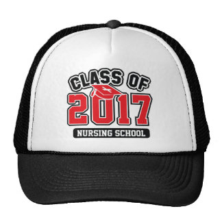 Class Of 2017 Nursing Trucker Hat