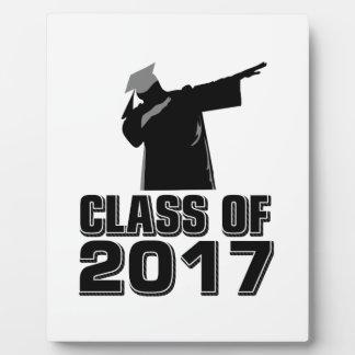 Class of 2017 plaque