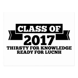 Class of 2017 postcard