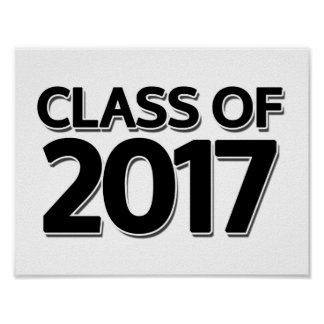 Class of 2017 poster