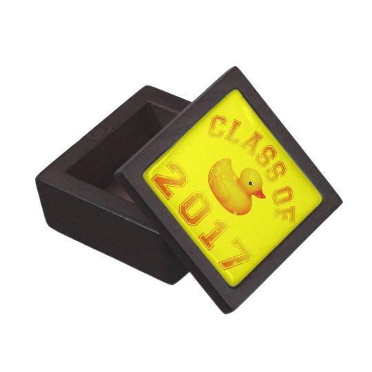 Class of 2017 Rubber Duckie Jewelry Box