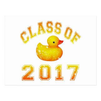 Class of 2017 Rubber Duckie Postcard