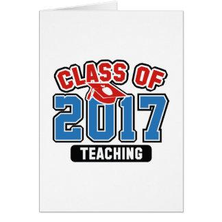 Class Of 2017 Teaching Card