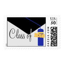 Class Of 2018 (Blue Graduation Cap And Tassel) Postage