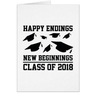 Class Of 2018 Card