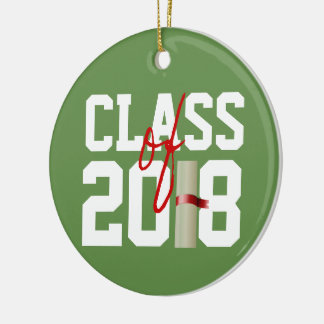 CLASS of 2018 Christmas Ornament