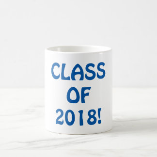 Class of 2018 coffee mug