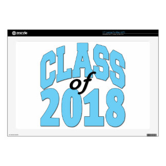 Class of 2018 decal for laptop