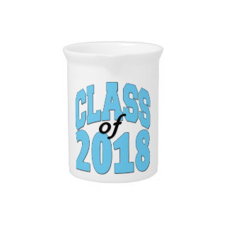 Class of 2018 drink pitcher