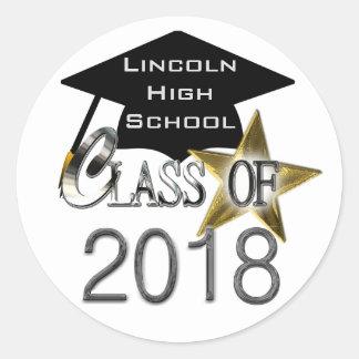 Class Of 2018 Graduation Seals