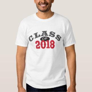 Class Of 2018 Red T Shirt
