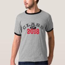 Class Of 2018 Red T-Shirt