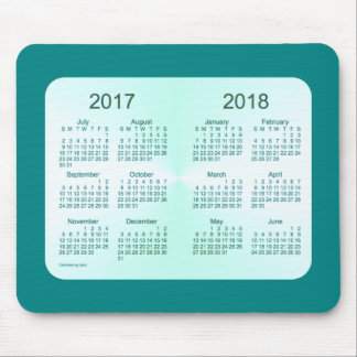 Class of 2018 Teal Calendar by Janz Mouse Pad