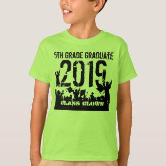 Class of 2019 5th Grade Grad T-Shirt