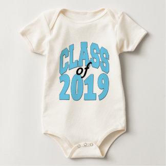 Class of 2019 blue baby bodysuit