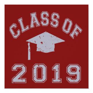 Class Of 2019 Graduation - Grey Invitation