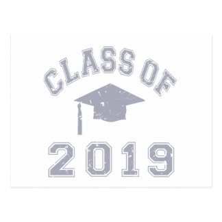 Class Of 2019 Graduation - Grey Postcard