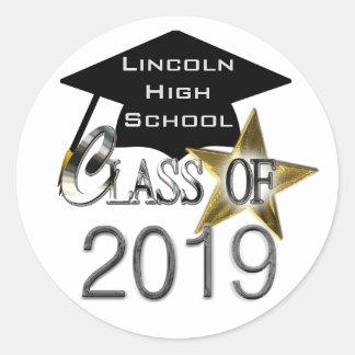 Class Of 2019 Graduation Seals