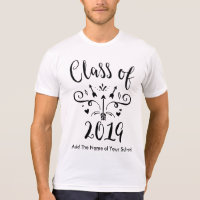 Class of 2019 High School or College Student T-Shirt