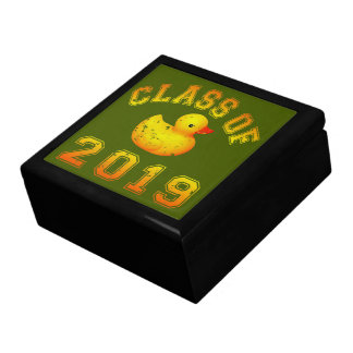 Class Of 2019 Rubber Duckie - Orange/Red 2 Gift Box