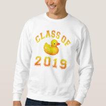 Class Of 2019 Rubber Duckie - Orange/Red 2 Sweatshirt