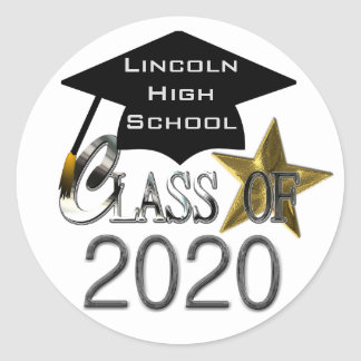 Class Of 2020 Graduation Seals