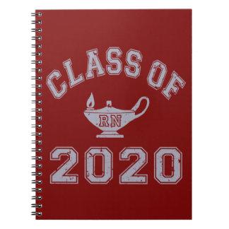 Class Of 2020 RN (Registered Nurse) - Grey 2 Notebook