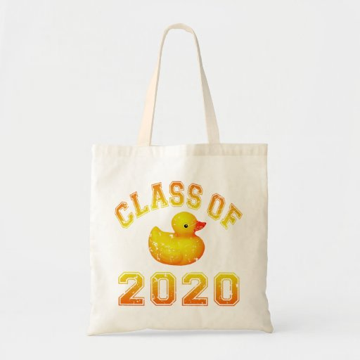 Class Of 2020 Rubber Duckie - Orange Tote Bag