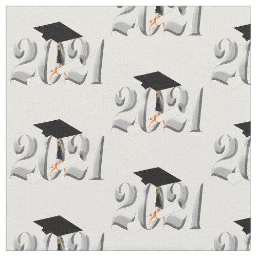 Class of 2021 Graduation Cap and Diploma Fabric