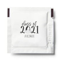 Class of 2021 Hand Sanitizer Packet