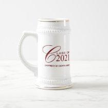Class of 2021 - Personalized Graduation Gift Mugs