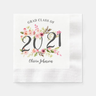 CLASS OF 2020 PURPLE GRADUATION party lunch PAPER NAPKINS school colors 36pcs