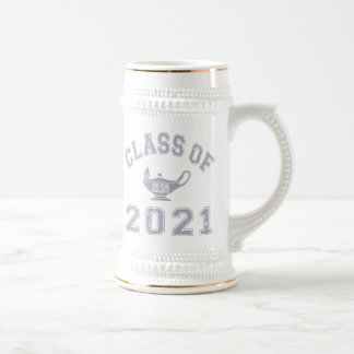 Class Of 2021 RN (Registered Nurse) - Grey 2 Beer Stein