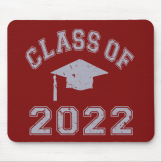 Class Of 2022 Graduation -Grey 2 Mouse Pad