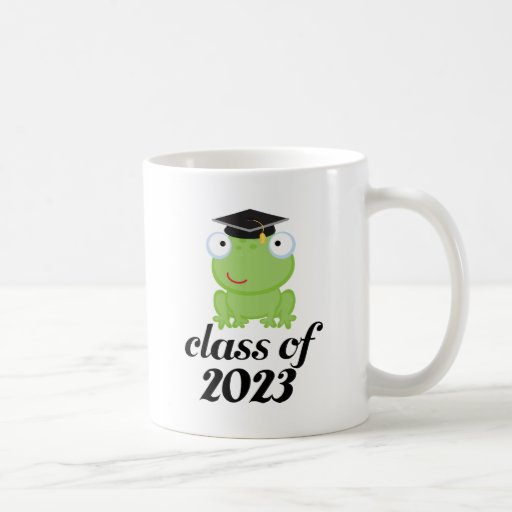 Class of 2023 Frog Graduate Mug