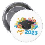 Class of 2023 Graduate Hat Gift Idea Buttons