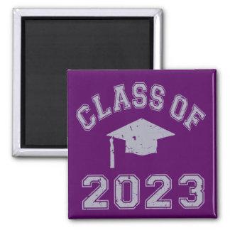 Class Of 2023 Graduation - Grey 2 Refrigerator Magnets