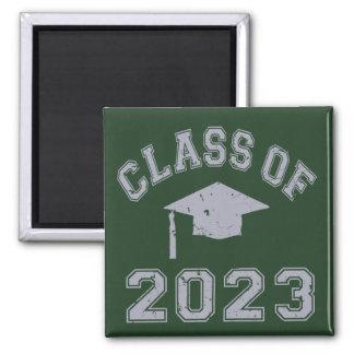 Class Of 2023 Graduation - Grey 2 Magnets