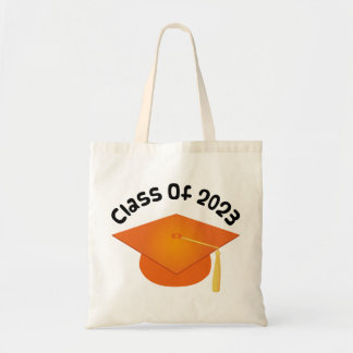 Class of 2023 Graduation Hat Gift Tote Bag