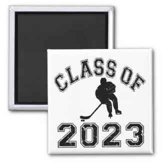 Class Of 2023 Hockey - Black 2 Refrigerator Magnet