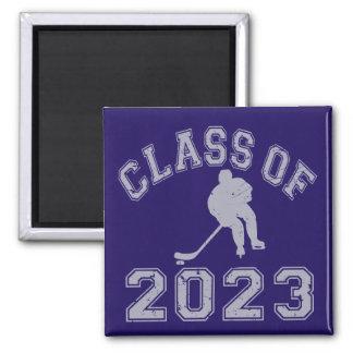 Class Of 2023 Hockey - Grey 2 Fridge Magnet