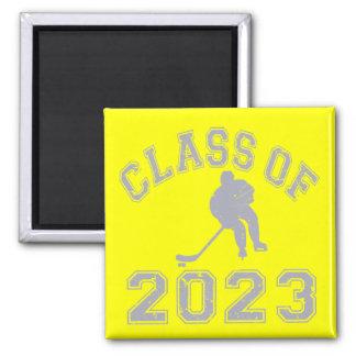 Class Of 2023 Hockey - Grey 2 Refrigerator Magnet