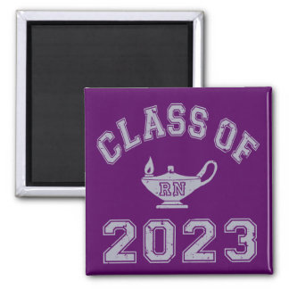 Class Of 2023 RN (Registered Nurse) - Grey 2 Magnets