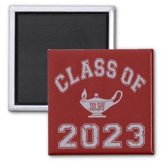 Class Of 2023 RN (Registered Nurse) - Grey 2 Fridge Magnets