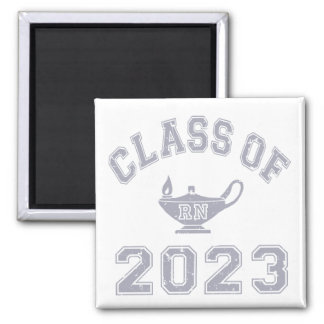 Class Of 2023 RN (Registered Nurse) - Grey 2 Magnet