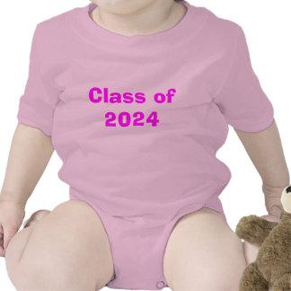 Class of 2024 baby bodysuits