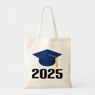 Class of 2025 Graduate Hat Gift Tote Bag