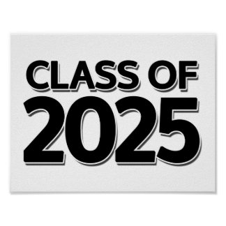 Class of 2025 poster