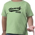 Class of 2026, Cute Funny Baby Toddler T-Shirt