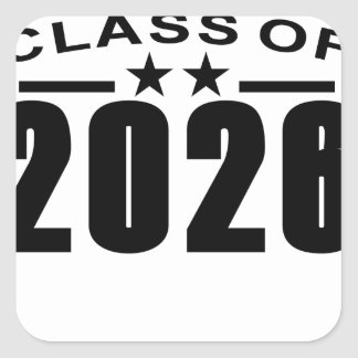Class Of 2026 Shirts '.png Square Sticker